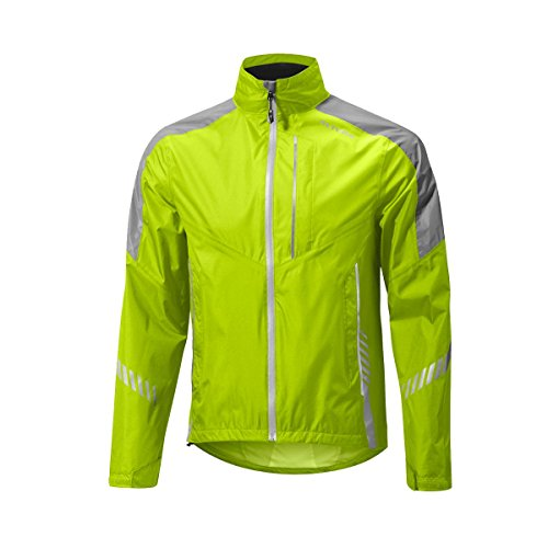 Altura Men's Nightvision 3 Waterproof Jacket, Hi-Viz Yellow, Large