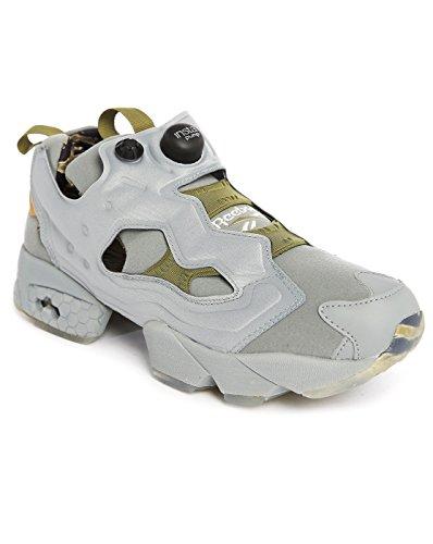 Reebok Instapump Fury Og Syn Mens Running Sneakers Da Ginnastica Grigio Oliva Farina Davena Nero V70707