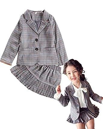 fc8a21736495b Dorababy 子供服 ワンピース 卒業式 入学式 スーツ 女の子 フォーマル 結婚式 発表会 3