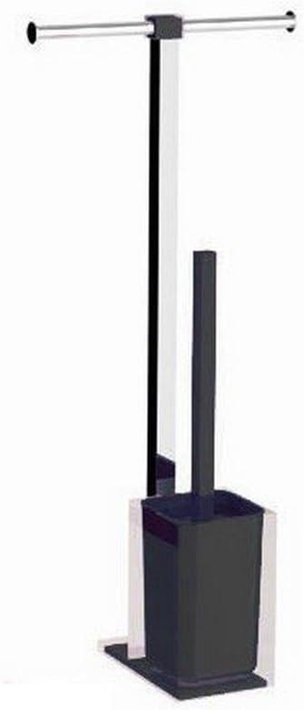 fucsia cromo Colonna piantana portarotolo e scopino wc RAINBOW GEDY