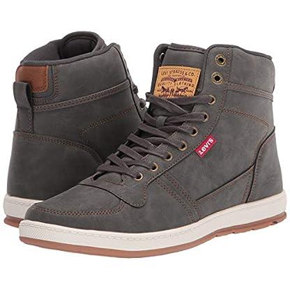 Levi's Mens Stanton Waxed UL NB Fashion Hightop Sneaker Shoe 7