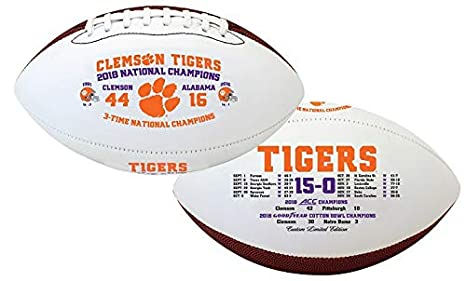 Clemson Tigers Souvenir Football 2018 National Championship ...