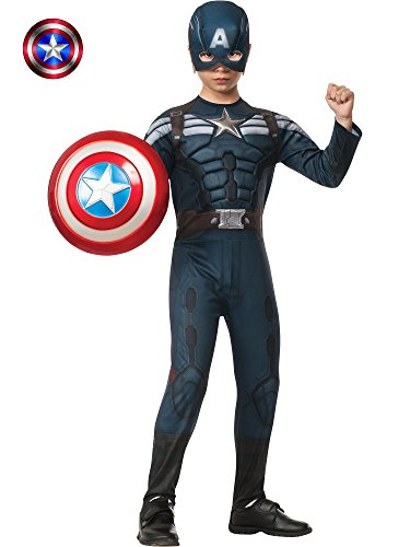 Rubies Captain America: The Winter Soldier Deluxe Stealth Suit Costume, Child -