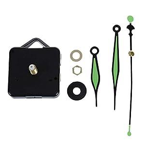 SODIAL(R) Maquinaria de Cuarzo de Reloj con Agujas en verde Relojero 3