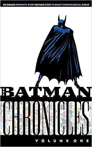 Batman Chronicles Vol 1 By Bill Finger 2005 04 01 Amazon Com Books