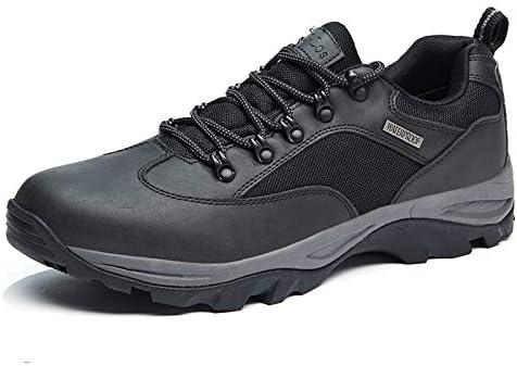 CC-Los Men's Hiking Boots Shoes Waterproof Mid Low Top Boot Shoe Shock-Absorbing EVA Casual Outdoor Lightweight
