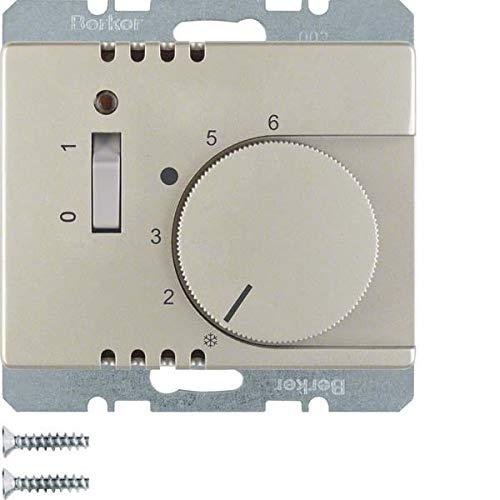 Hager arsys - Placa termostato interruptor +lente con ...