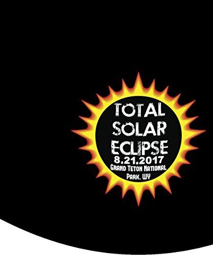 Total Solar Eclipse 2017 Grand Teton National Park, Wyoming Commemorative Astronomy Mug by Plaid Panda Creations