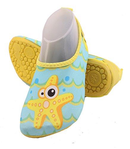 Aqua Schage Barefoot Mer Pour Motifs Nautiques Sport De Rapide 7 Et Abclothing Yoga Enfants Chaussettes Enfiler D'toile nwz8SYxqx