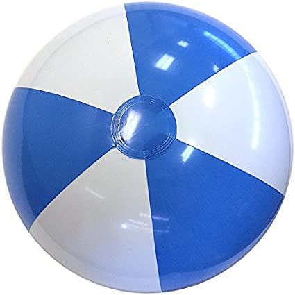 PF2480 Pack Of 2 Bullet Bahamas Solid Colour Beach Ball