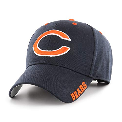 NFL Chicago Bears Blight OTS All-Star Adjustable Hat, Navy, One Size