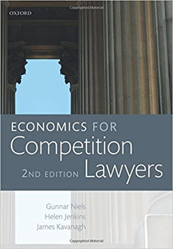 Descargar Epub Economics For Competition Lawyers