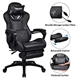 ELECWISH Massage Computer Gaming Chair Reclining Ergonomic Racing Office Chair
