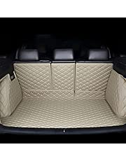 Car Rear Boot Cargo Liner Leather Mat Apply for Toyota Rav4 2019 2020 2021 XA50, Full Encirclement Auto Trunk Protection Pad, Waterproof Durable Styling Accessories