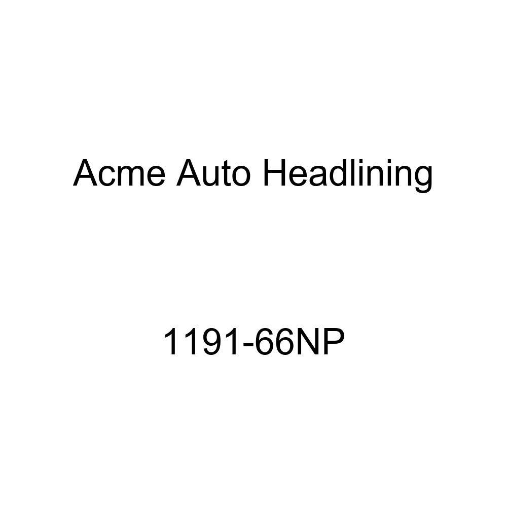 Acme Auto Headlining 1191-66NP Blue Replacement Headliner 1959-60 Buick Lesabre 2 Door Sedan 7 Bows