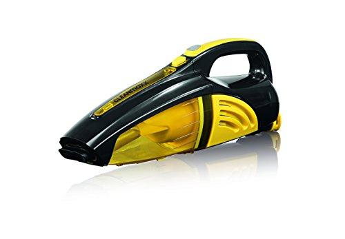 cleanmaxx 00973 Akku- Handstaubsauger 2-in-1   Nass-/Trocken-/Staubsauger   40 W  Kabellos   Haushaltsreinigung   gelb / schwarz