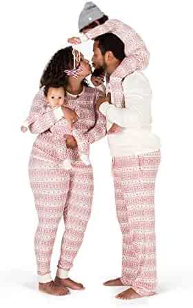 Burt's Bees Baby - Family Jammies, Holiday Matching Pajamas, 100% Organic Cotton PJs