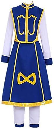 Halloween Cosplay Custom for Anime Unter×Hunter Kurapika Made Novelty Blue