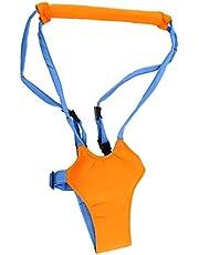 healthwen Kid Keeper Baby Safe Walking Learning Assistant Belt Barn Småbarn Justerbar säkerhetsrem Wing Harness bär orange