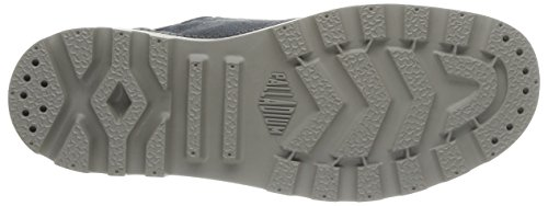 Palladium Us Oxford Lc - Zapatillas de Deporte de canvas hombre gris - Gris (Castlerock/Vapor)