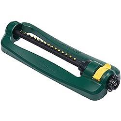Melnor 30260 Turbo Oscillating Sprinkler, 2,800 sq. ft, Green