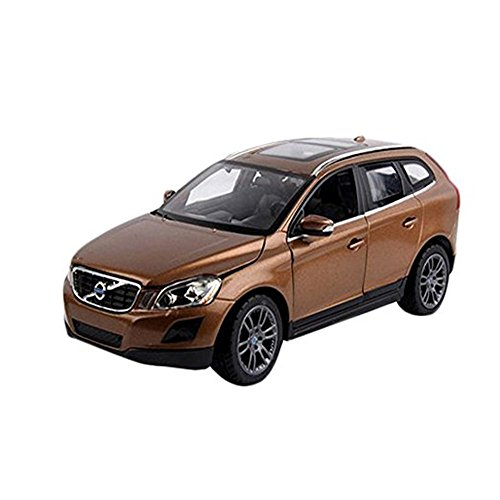 Kangkang@ 1:24 Alloy Car Model XC60 Car Model Toy for Boy (Coffee)