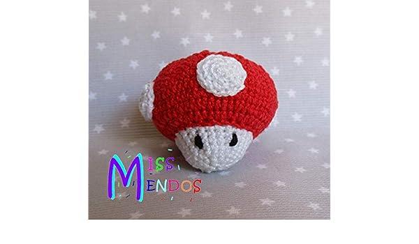 Llavero Seta de Mario Bros: Amazon.es: Handmade