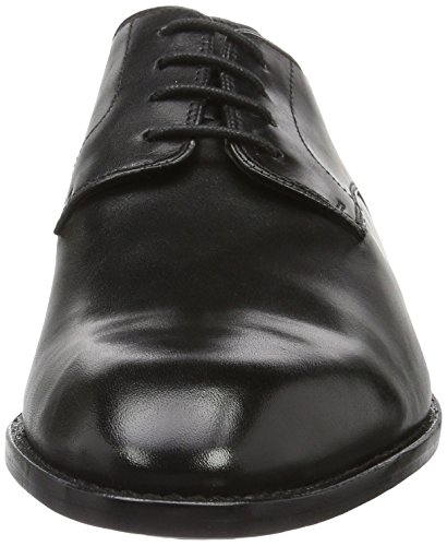 Clarks Derby Leather Nero Scarpe 261231597 Uomo Black FqaFUHr