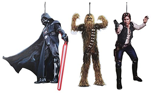 Star Wars Classic Hanging Character Set (Star Wars Party Decorations)