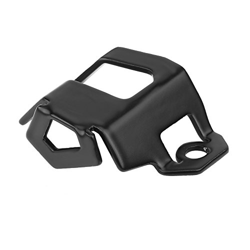 Qiilu Rear Brake Fluid Reservoir Guard Protector Cover Fit For BMW F700GS F800GS Adventure