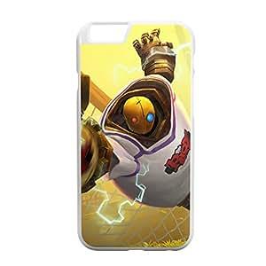 Blitzcrank-003 League of Legends LoL case cover for Apple iPhone 6 - Plastic White
