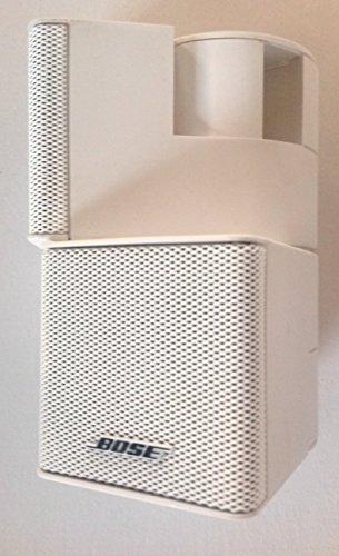 18' Bookcase (Bose premium jewel cube speaker w/18'+ cable white)