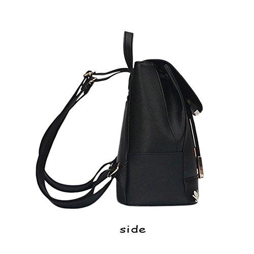 Butterfly KANGAROO B WINK PU Rucksack Women Fashion Travel Girls bag Leather Ladies Shoulder Bag Backpack O6W6qd