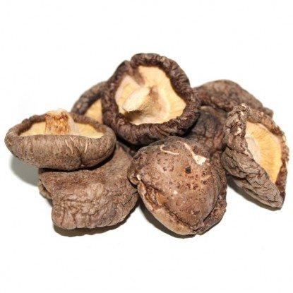 Dried Whole Shi-itake Mushroms - 8 oz. Life Gourmet Shop