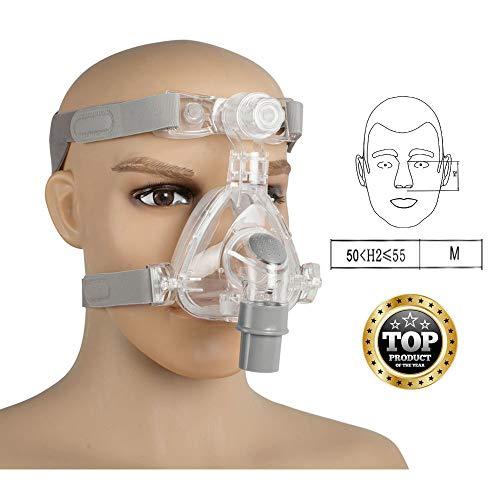 Denshine Mask for Sleep with Free Adjustable Headgear (M) from Denshine