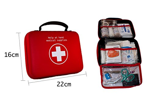 First Aid Kit by Help at Hand - 100 Piece All Purpose Com...