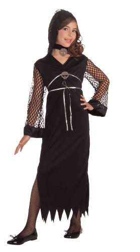 Forum Novelties Darling of Darkness Costume, Child Medium - Girl's Day Darling Costume