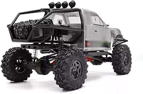 Qin RC Car 1:10 Large Size Kids High Speed Racing Vehicle Electric Truck,2.4G 4WD Waterproof Brushed Rc Car, Independent Shock Absorption,Off-Road Auto Vehicle Buggy Toy