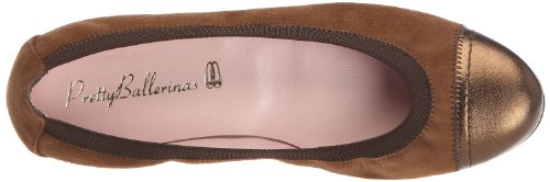 Pretty Ballerinas 41027, Ballerine Donna Marrone (Braun (Bronze (Ami Goldy / Angelis Cobe)))