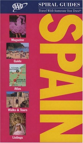 Spain Spiral Guide (AAA Spiral Guides) -