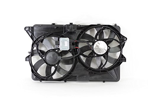 Dual Radiator and Condenser Fan Assembly - Cooling Direct For/Fit FO3115192 09-09 Ford Flex 3.5L