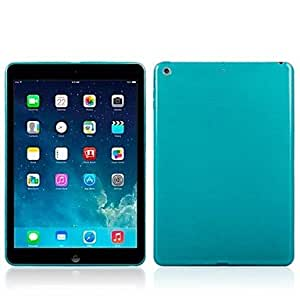 get Beautiful TPU Material Brushed Patterns Protective Casing for iPad Air (Assorted Colors) , Dark Blue
