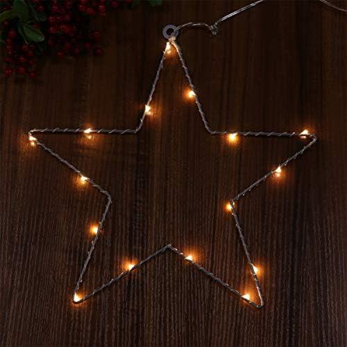 Uonlytech - Luces LED para decoración navideña (2 unidades, hierro, para habitaciones, habitaciones, fiestas, al aire libre): Amazon.es: Iluminación