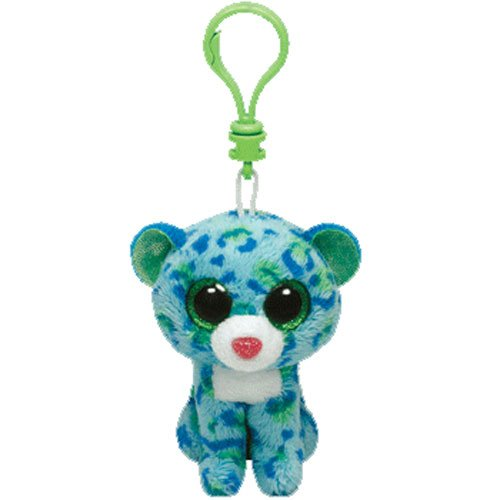 Ty Plush-beanie Boo' S Clip-leona The Leopard -