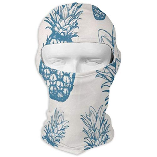 Balaclava Pineapples Pink Full Face Masks UV Protection Ski Hat Mask Motorcycle Hood for Cycling Hiking Women Men