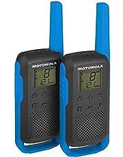 Radio PMR draagbare Motorola TALKABOUT T62 BLUE set met 2 stuks