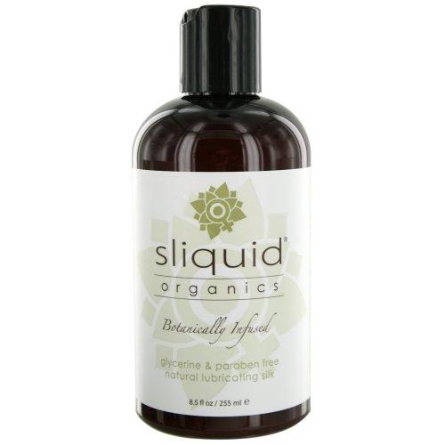 Sliquid Organics Silk Lubrifiant, 8,5 once