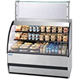 Federal Industries SSRVS5042 Specialty Display Versatile Service Top over Refrigerated Self-Serve Deli Merchandiser