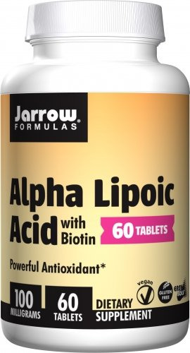 Jarrow Formulas - Alpha Lipoic Acid 100 mg - 60 tabs (Pack of 12) by Jarrow Formulas