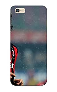 Runandjump Brand New Defender Case For Iphone 6 Plus (yellow Sports Soccer Ac Milan Zlatan Ibrahimovic Football Stars ) / Christmas's Gift